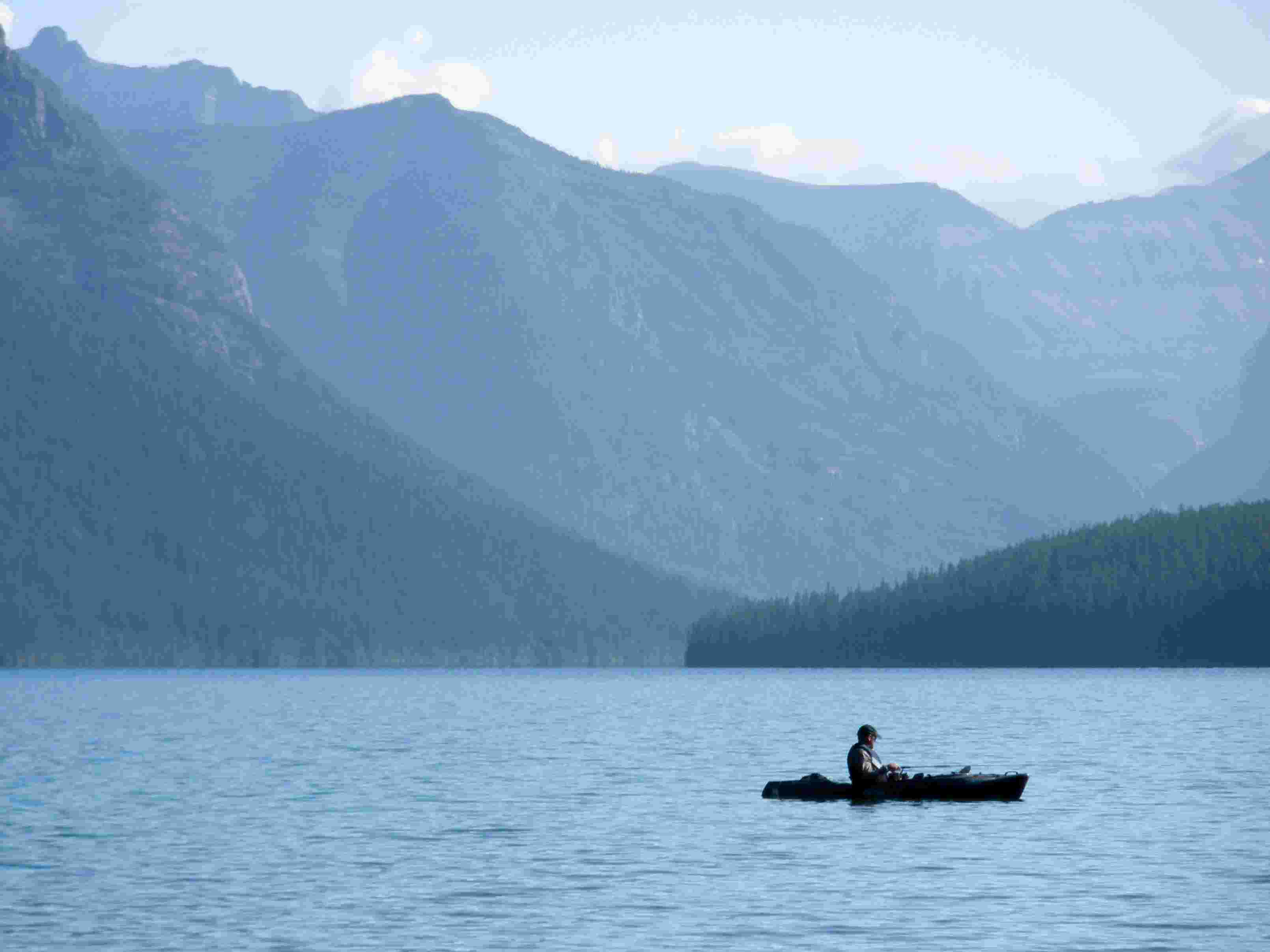 Fisherman DR at Bowman Lake